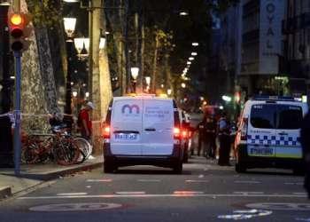 Los atentados de este jueves provocaron 14 muertos y un centenar de heridos. Foto: AFP