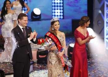 Ana Carvajal se convirtió este jueves 23 de noviembre en la Reina de Quito 2017-2018. Foto: API