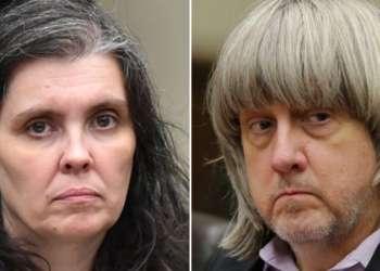 Louise y David Turpin mantuvieron cautivos a 12 hijos con cadenas y candados, según denunció uno de los niños que logró escapar.