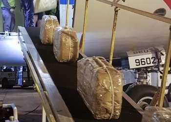 BUENOS AIRES, Argentina.- El peso total de la droga estaba valorado en unos 50 millones de euros. Foto: AFP