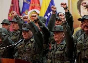 Acuerdo se suma a un proyecto de ley de amnistía que Guaidó ofreció a los uniformados. Foto: Archivo panampost.com