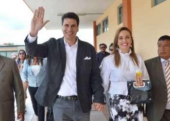 CUENCA, Ecuador.- Pedro Palacios ha alcanzado el 28.05% del respaldo de los cuencanos. Foto: API