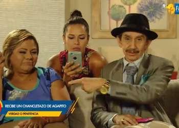 Agapito prepara el juego del amor para Doña Gioco