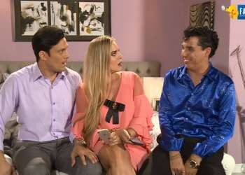Luis Ernesto, Lulú y Frickson