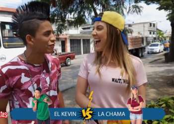 La Chama vs El Kevin ¿Quién venderá más jugos?