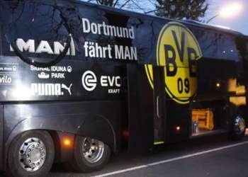El hombre detonó tres explosivos cuando el autobús se dirigía a un estadio. Foto: AFP