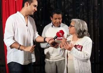 Los Papis regalan besos | Backstage - Prueba de Amor