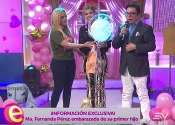 EXCLUSIVA: Mafer Pérez espera un bebé