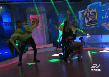 La máquina del baile VIP: Mario Vélez y Julissa Jiménez