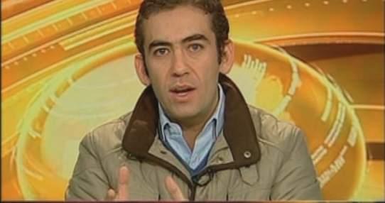 ECUADOR.- Antonio Ricaurte durante su entrevista en Contacto Directo. Foto: Ecuavisa