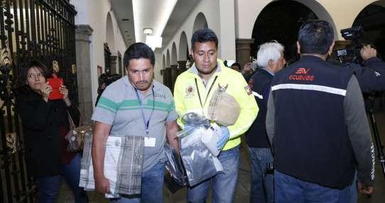 Correa explicó que se trata de una cámara desconectada desde enero de 2010.