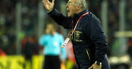 El entrenador de la 'Tricolor' confía en cerrar las eliminatorias con una victoria. Foto: AFP