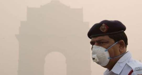 Los niveles de contaminación recientes en Delhi superaron 40 veces el límite recomendado por la OMS.