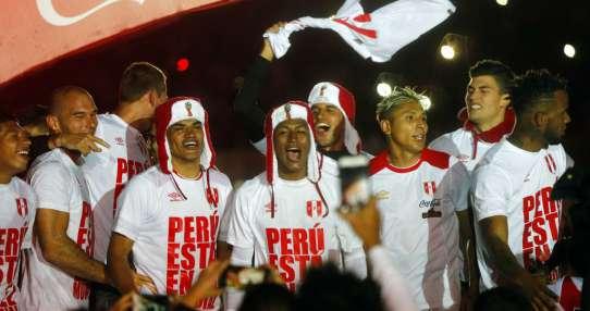 La selección peruana clasificó a una cita mundialista tras 36 años. Foto: AP