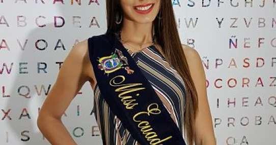 Virginia Limongi, Miss Ecuador 2018.