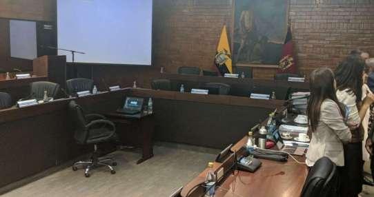 La mitad de Concejo de Quito insiste en salida del alcalde Rodas. Foto: @eduardodelp