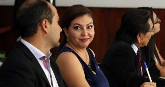 Informe concluye que Espín no cumplió funciones como legisladora en visita a Falcón. Foto: API