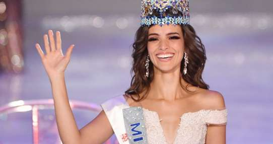 Modelo mexicana es coronada Miss Mundo. Foto: AFP
