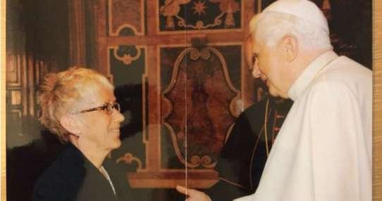 """Lucetta Scaraffia, directora del suplemento femenino de """"L'Osservatore Romano""""."""