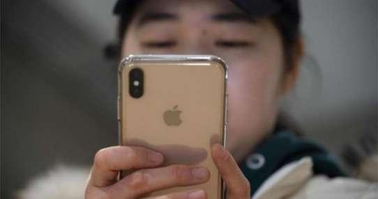 Apple confía en China en torno al 20% de sus ingresos. Foto: AFP