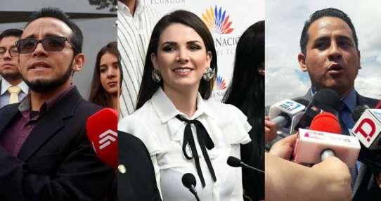 QUITO, Ecuador.- Según defensa de exasesor, Fiscalía pidió otra información. Ronny Aleaga entregó pruebas. Collage: Ecuavisa