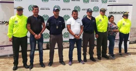 """Las autoridades colombianas anunciaron este jueves que desmantelaron la red de explotación sexual conocida como la banda de """"la"""