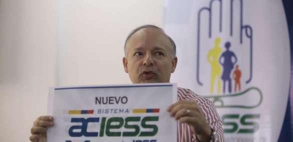 ECUADOR.- El directivo Richard Espinosa recordó haber denunciado actos irregulares detectados en la administración de González, en el 2015. Foto: API