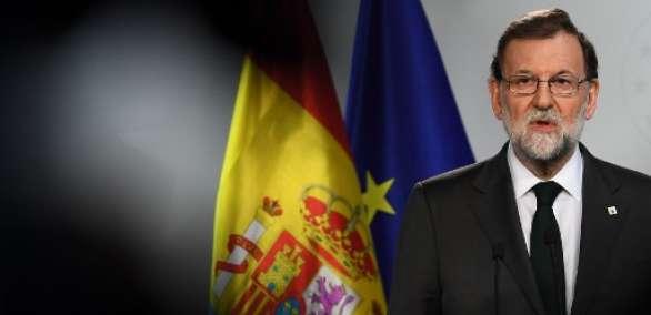 Rajoy defendió la actuación el 1 de octubre de las fuerzas de seguridad españolas. Foto: AFP