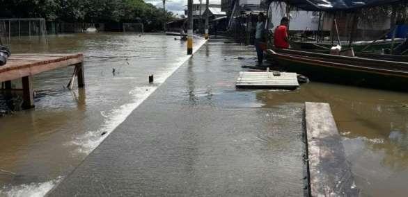 En el departamento del Huila, sur de Colombia, las autoridades alertaron a sus pobladores.    Foto: eltiempo.com