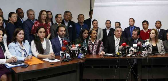 El CAL sesionará para analizar la solicitud de juicio político a Glas. Foto: API