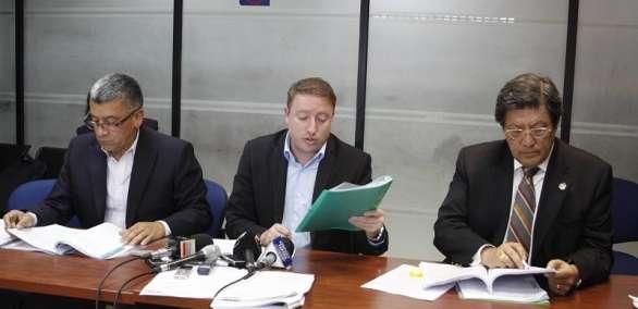 QUITO, Ecuador.- Según el organismo, la denuncia estaba incompleta y se debió dirigir a otra instancia. Foto: Prensa de Quito.