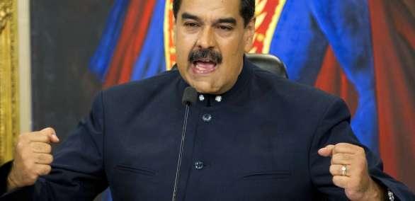"""Maduro dijo estar listo para firmar un """"preacuerdo"""" propuesto por los cancilleres. Foto: ARchivo AP"""
