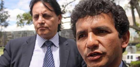 Audiencia de juzgamiento contra Cléver Jiménez y Fernando Villavicencio. Foto: Archivo - API