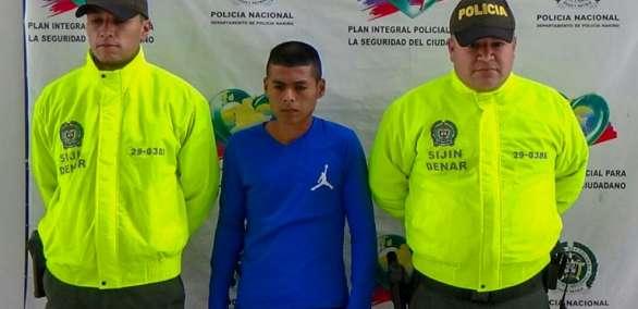 La detención fue anunciada en el puerto de Tumaco, epicentro de las operaciones del lado colombiano. Foto: AFP