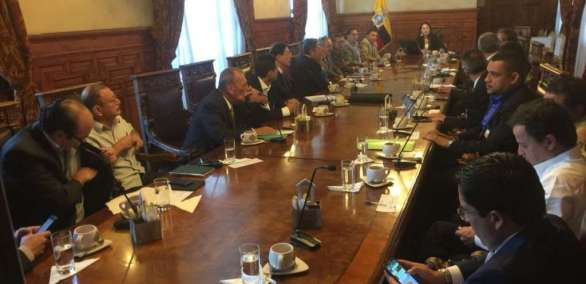 Analizan estrategias para reactivar economía en frontera. Foto: Industrias Ecuador