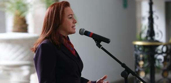 La ministra resaltó que la captura de alias 'Guacho' no corresponde a la Cancillería. Foto: Archivo Cancillería