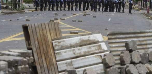 Centro Nicaragüense de Derechos Humanos aumentó su balance a 26 muertos. Foto: AFP