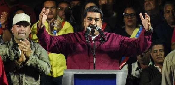 Maduro fue reelecto hasta 2025 en polémicos comicios. Foto: AFP