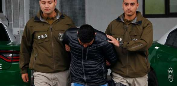 Ecuatorianos detenidos por asesinar a una mujer en Chile. Foto: LaNacion.cl