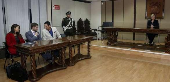 ECUADOR.- En la diligencia, la Fiscalía informará si mantiene la acusación a los vinculados al caso. Foto: API