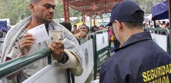 """Migración de Colombia tomará """"medidas de acción"""" ante el posible represamiento. Foto: AFP"""