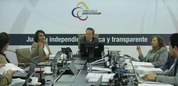 Varias críticas surgieron tras encargar cargo de fiscal de Pichincha a Balcázar. Foto: Flickr Judicatura Archivo