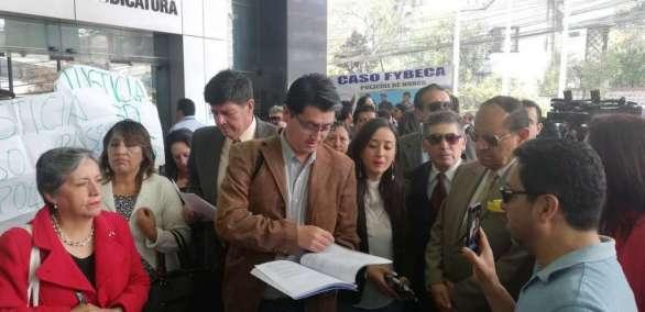 Presentan pedido de investigación a 15 jueces de la Corte Nacional. Foto: API