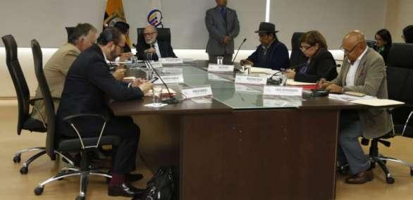QUITO, Ecuador.- El CPCCS transitorio resolvió informar este jueves situación de Contraloría y de Pablo Celi. Foto: API