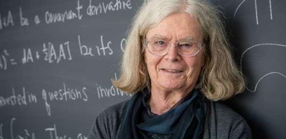 Uhlenbeck, de 76 años, es profesora de investigación invitada en la Universidad de Princeton. Foto: AFP
