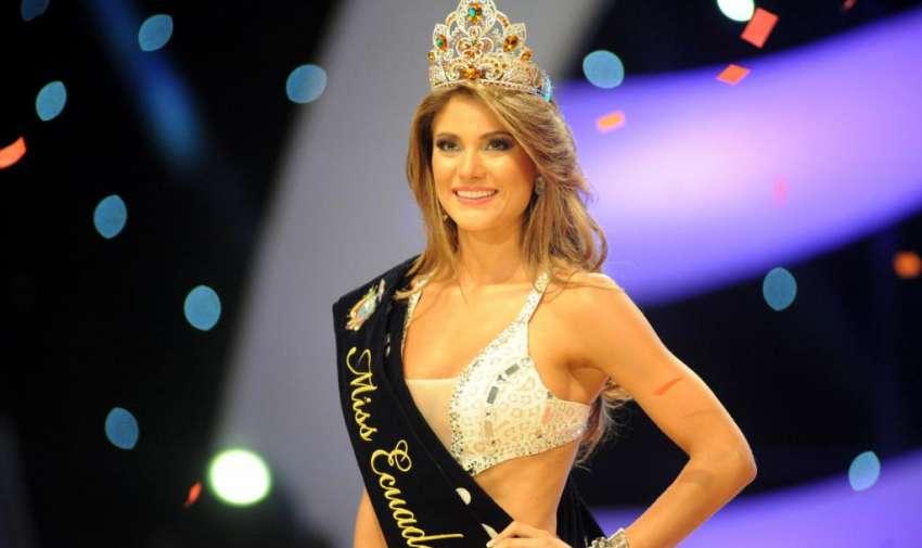 CONSTANZA BAEZ NUEVA MISS ECUADOR. En el Teatro Centro Cívico se realizó Miss Ecuador 2013.