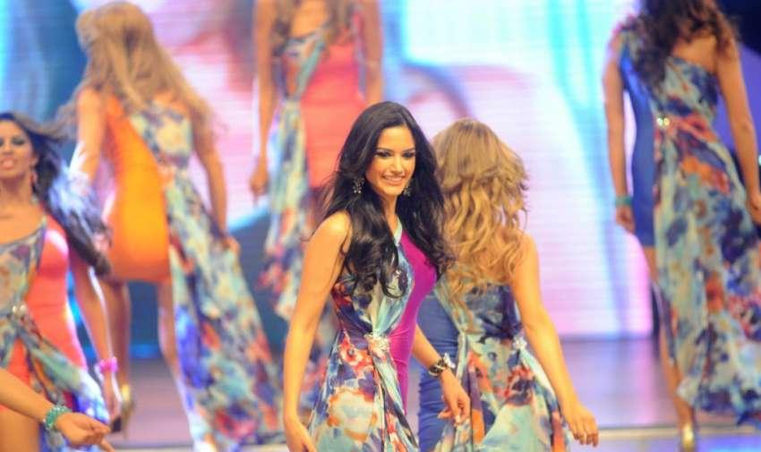 En el Teatro Centro Cívico se realizó Miss Ecuador 2013.