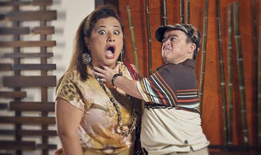 """Goliat y Elvira forman parte de """"Así Pasa""""."""