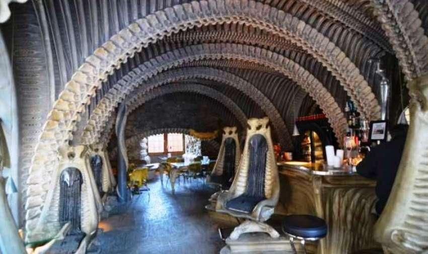 Museo de Aliens, en Suiza.