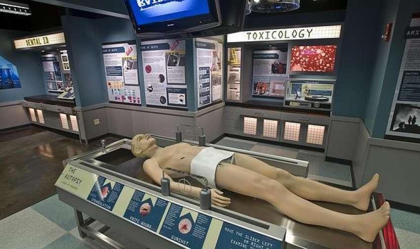 Museo del crimen en Estados Unidos.